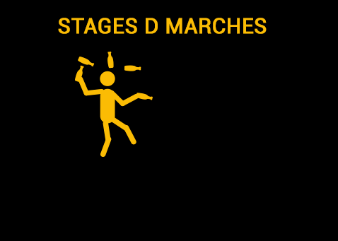 stages d marches